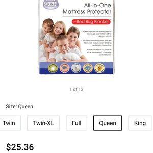ST -Max Queen Matress pad protector